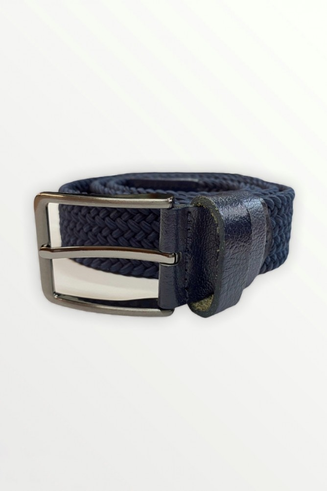 Knitted belt Black